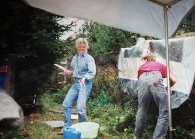 1993 - Dauercampingplatz