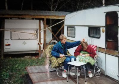 November 1993 - Dauercampingplatz